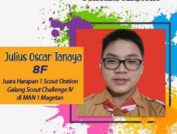 "Juara Harapan 1 ""Scout Oration"""