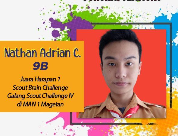 "Juara Harapan 1 ""Scout Brain Challenge"""